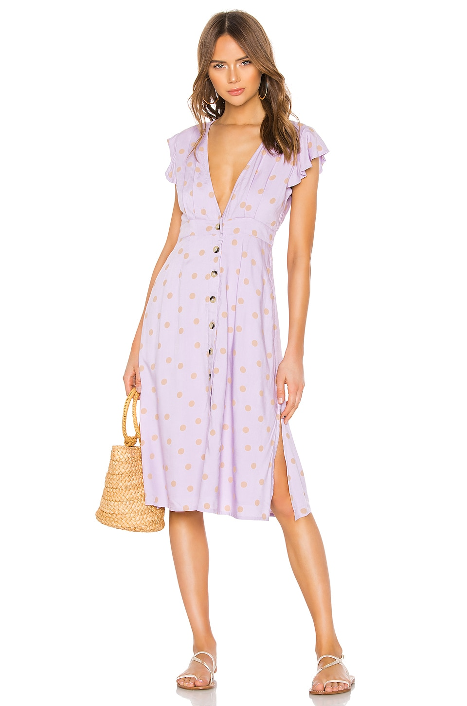 L*SPACE X REVOLVE Jordan Dress in Lilac