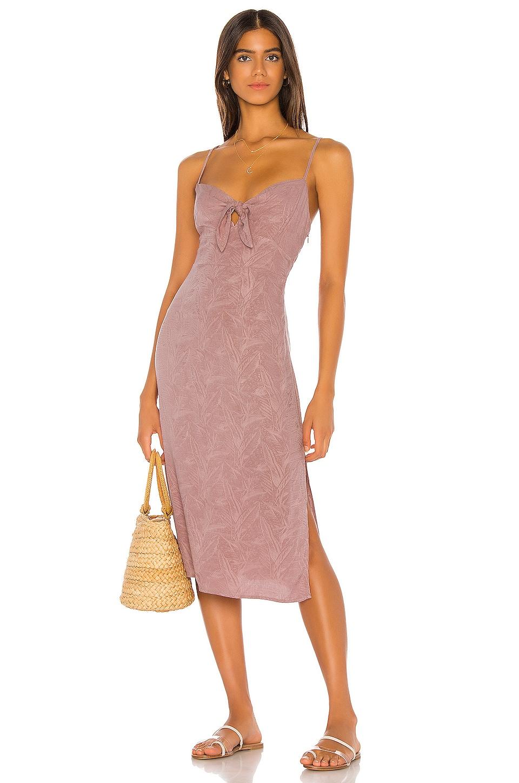L*SPACE Amanda Dress in Dusty Rose