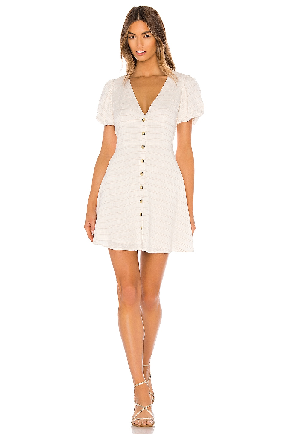 L*SPACE Sabrina Dress in Cream