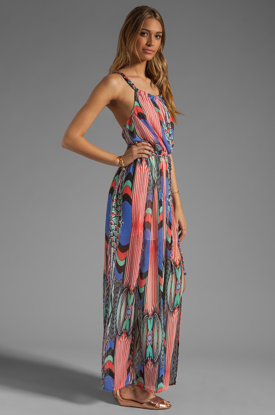 L*SPACE Inca Maxi Dress in Multi