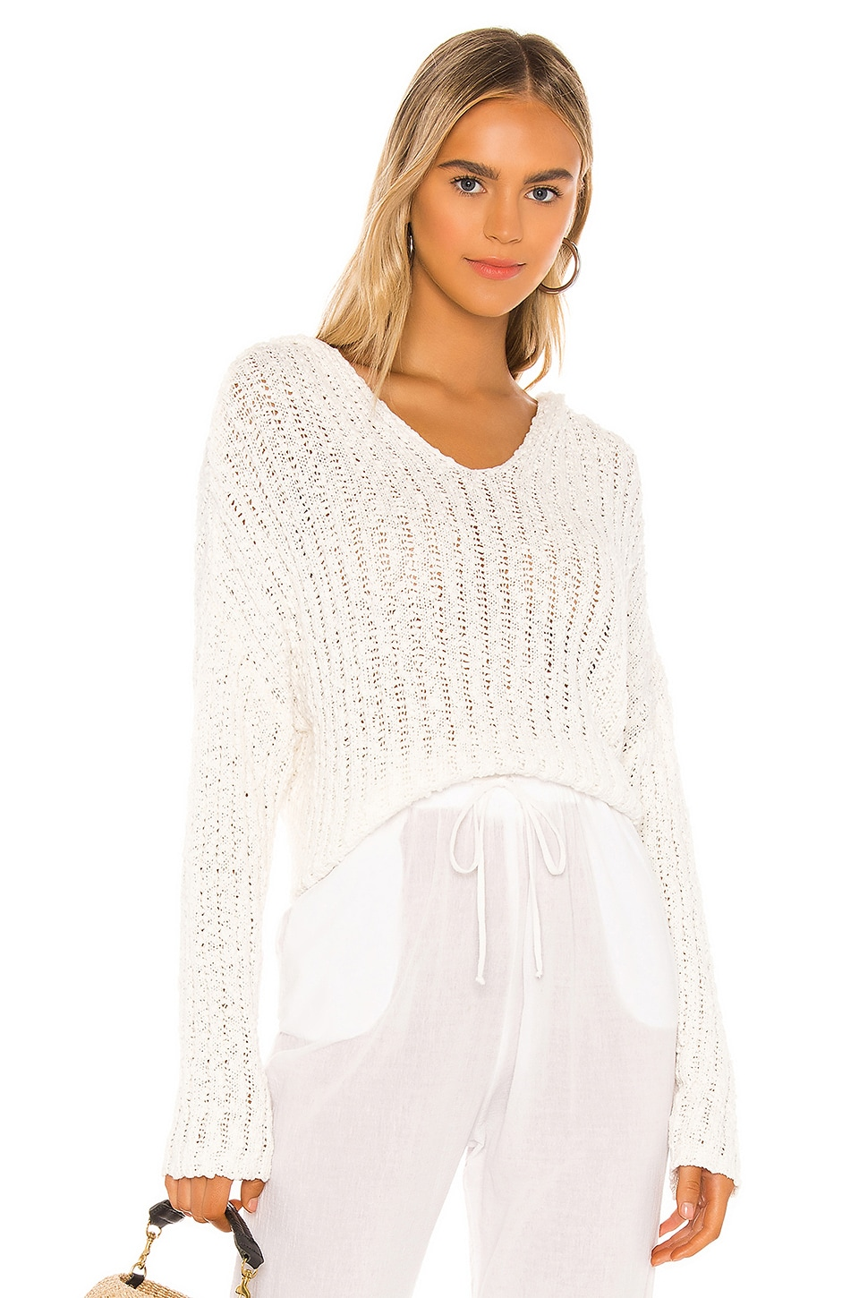 L*SPACE Olympia Sweater in Cream