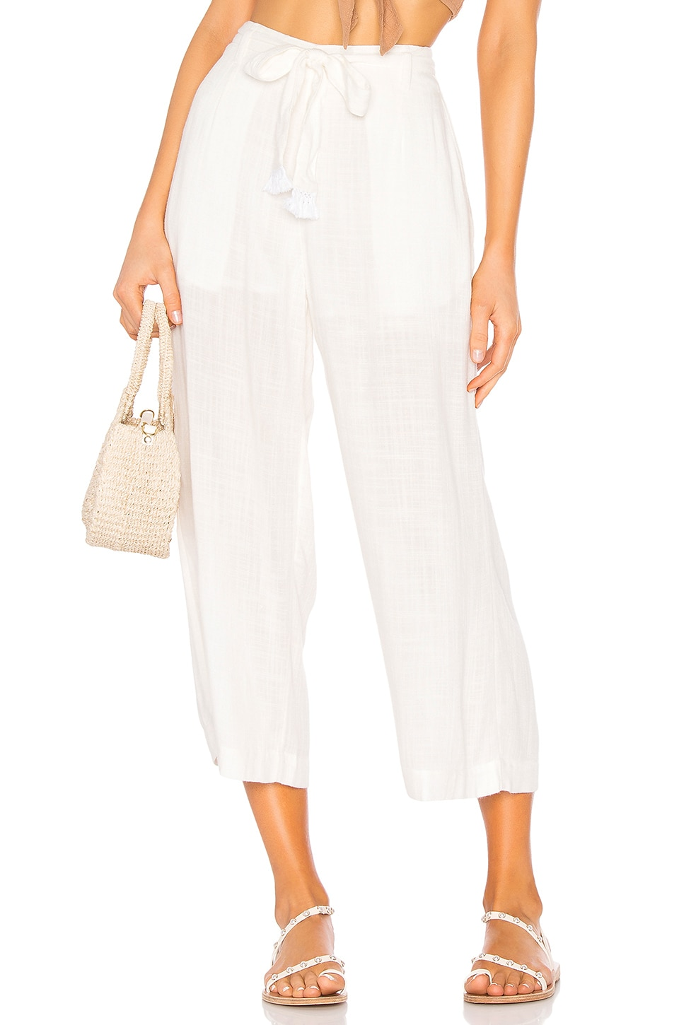 L*SPACE Smith Pant in Cream