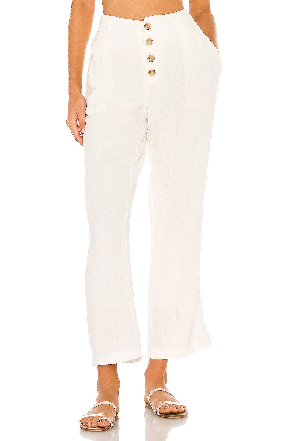 L*SPACE Georgie Pant in Cream