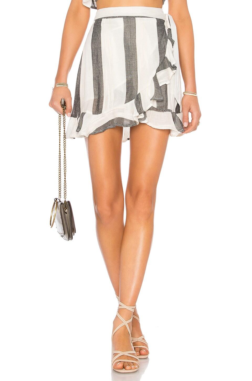 L*SPACE Lucia Skirt in Beach Bum Stripe