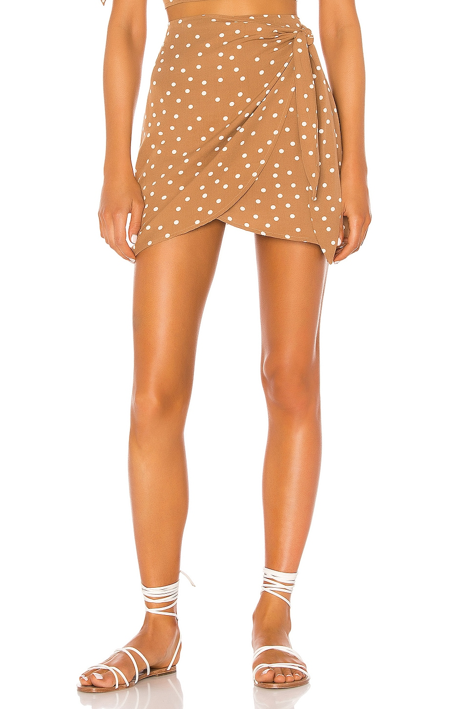 L*SPACE Lanie Skirt in Beachcomber Dot