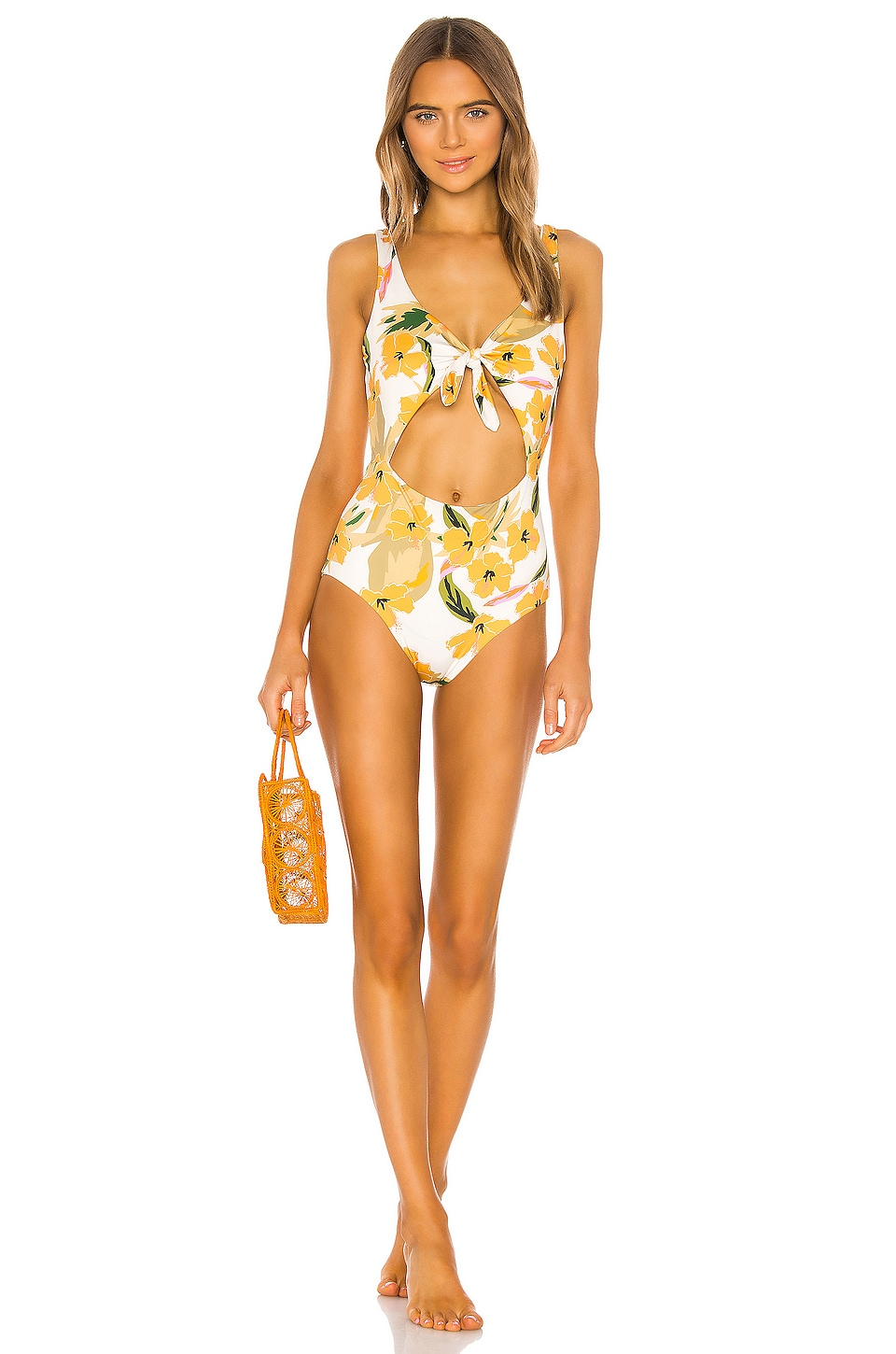 L*SPACE Kylie Classic One Piece in Ibiza Floral