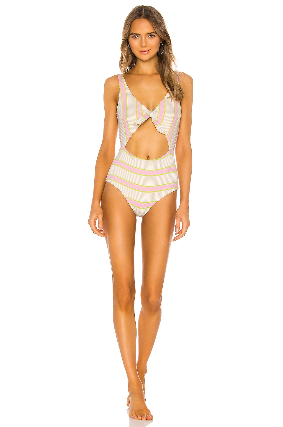 L*SPACE Kylie Classic One Piece in Bubblegum Pink