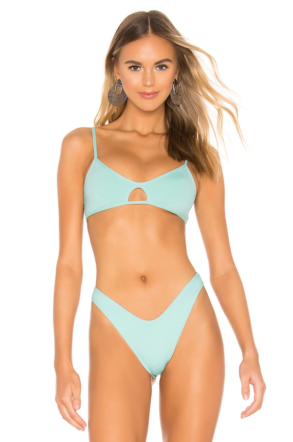 L*SPACE Ross Top in Pacifica Blue