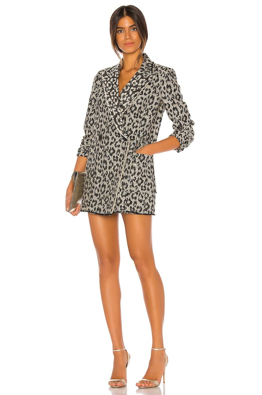 Le Superbe Mrs Setzer Jacket Dress in Leopard