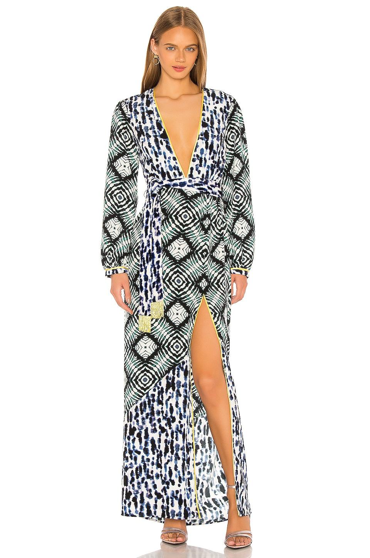 Le Superbe Laurel Canyon Maxi Dress in Ashbury