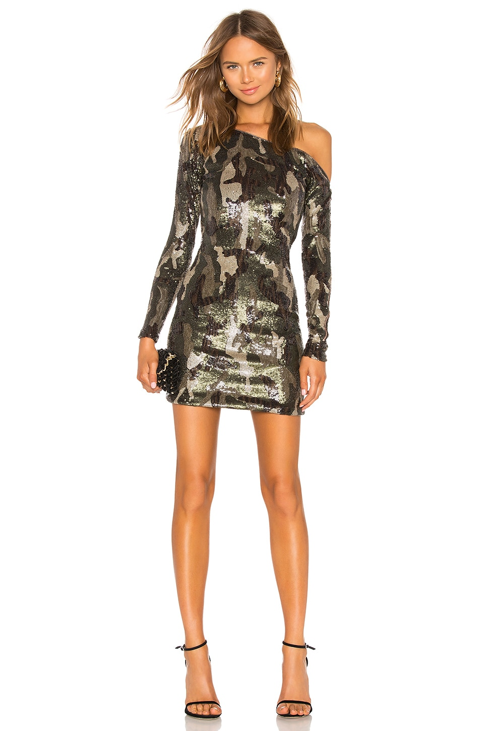 Sequin Zip It Dress