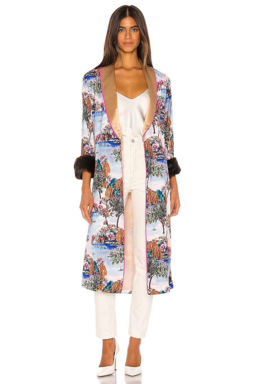 Le Superbe Ms French Robe Dress in Dawnridge Print