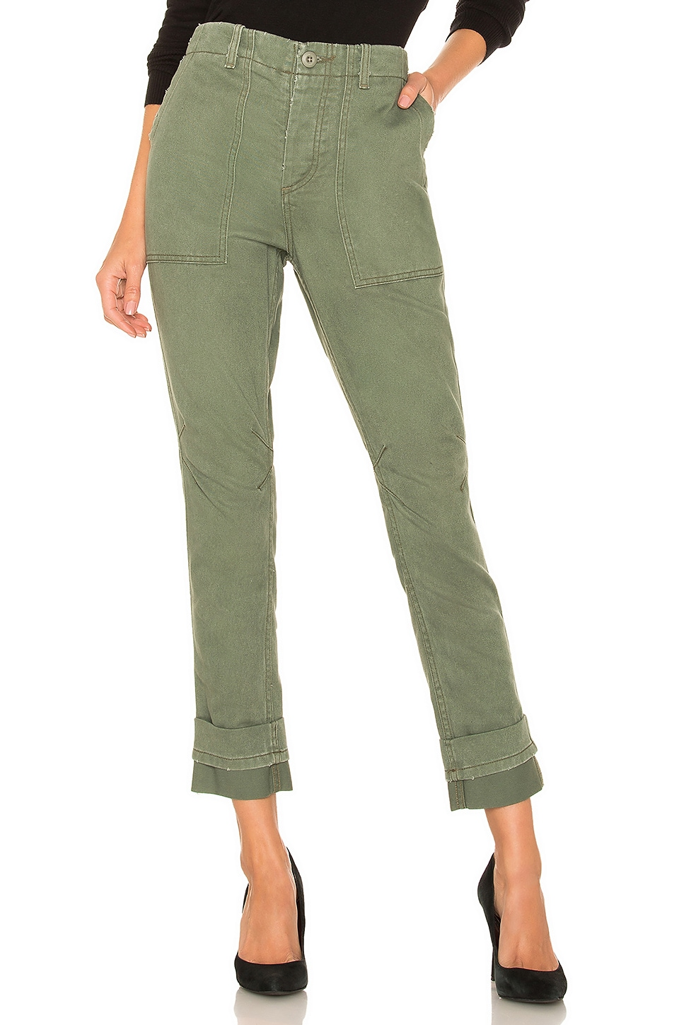 Le Superbe Casbah Cargo Pant in Army