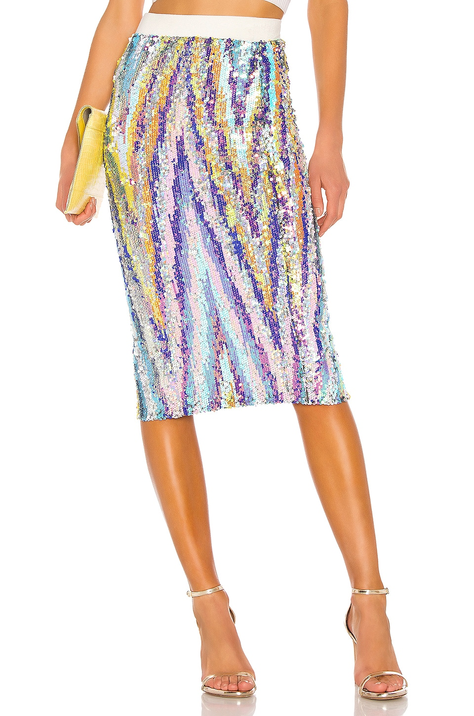Le Superbe Liza Skirt in Technicolor