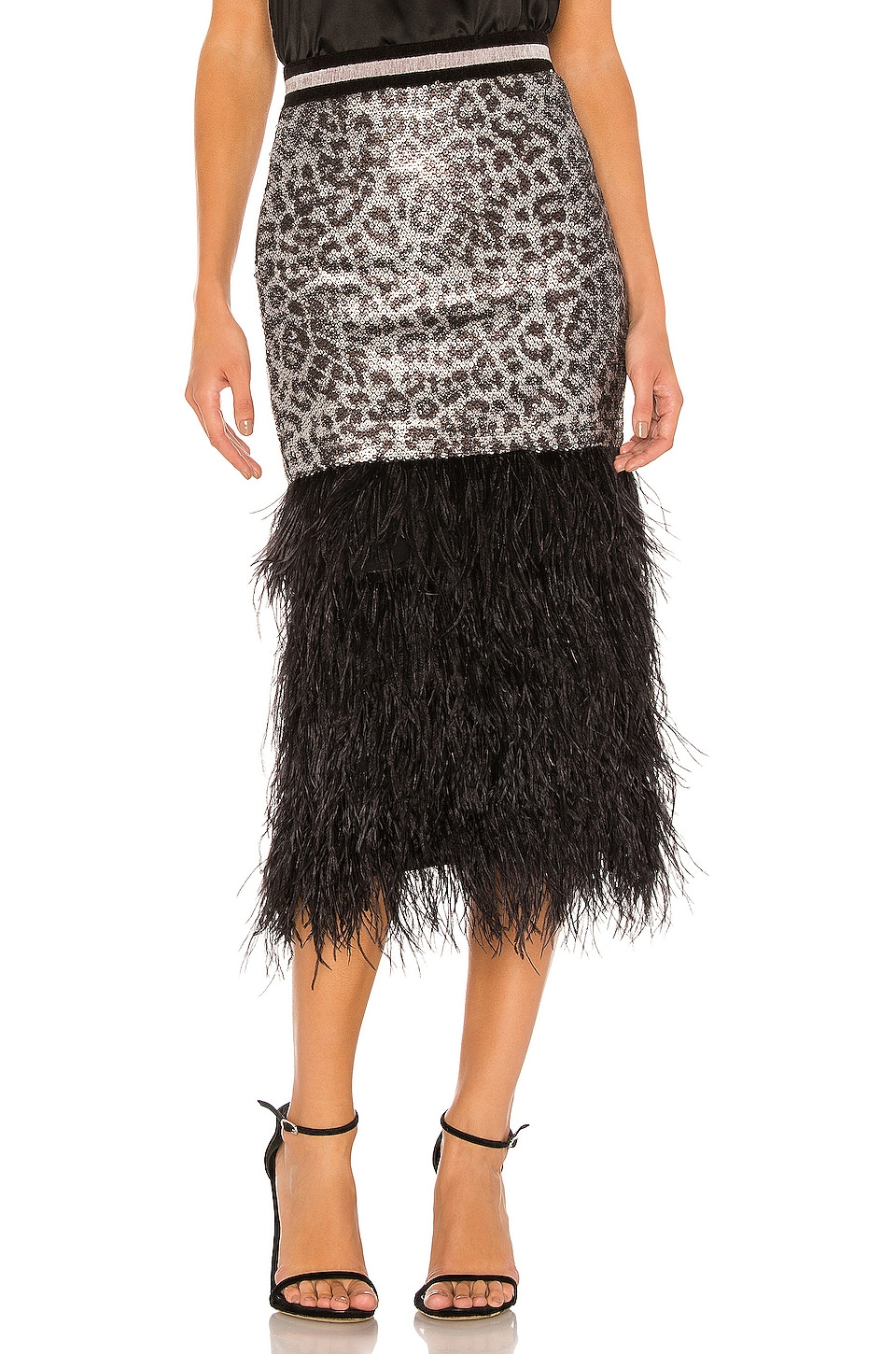 Le Superbe Marmont Sequin Skirt in Starwood Spot