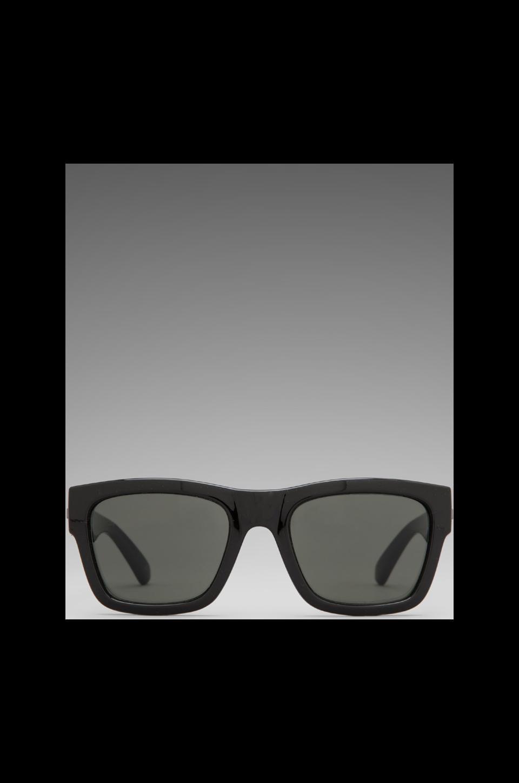 Le Specs Bowie in Black/ Khaki Mono