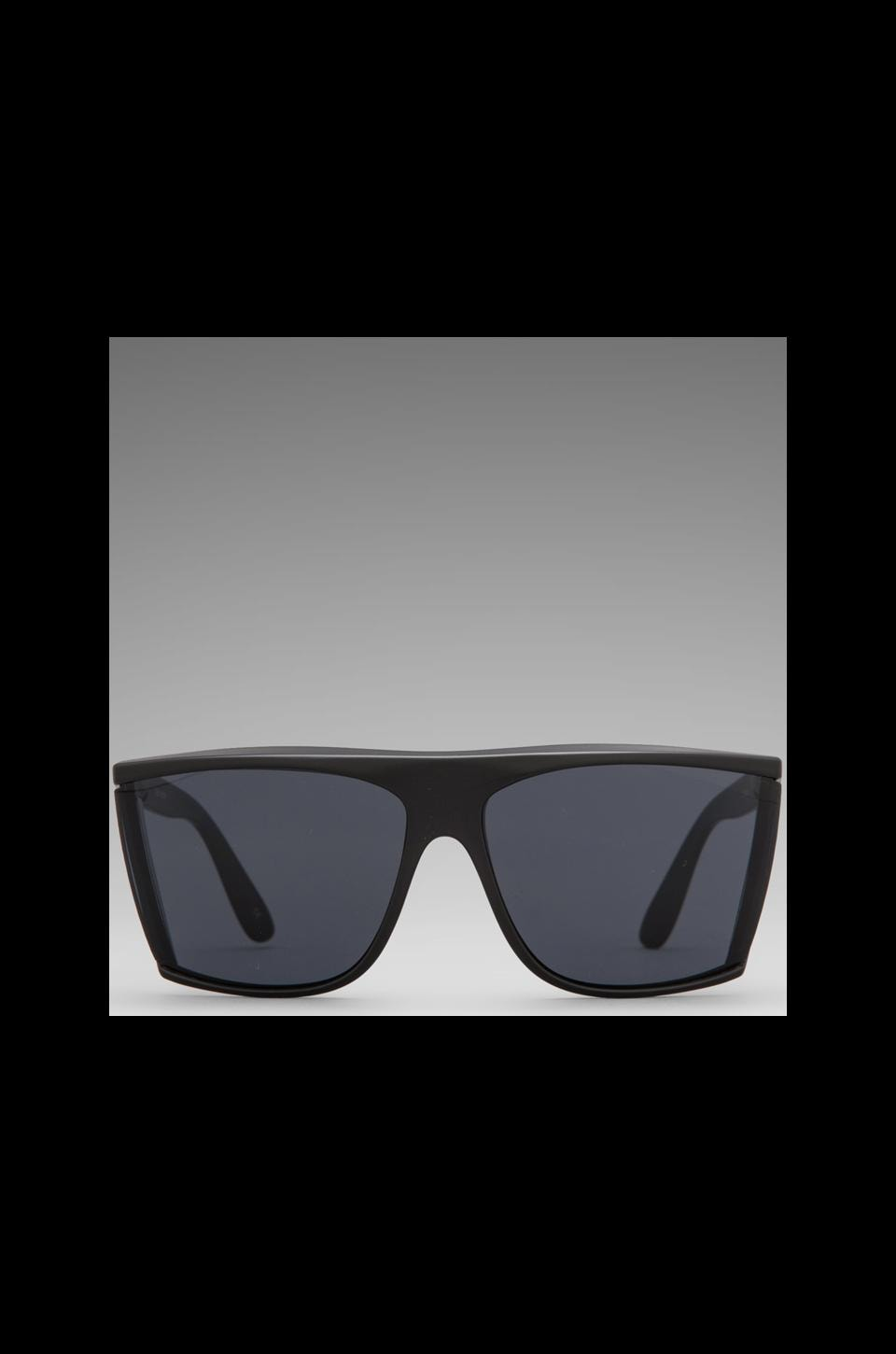 Le Specs T Rex in Matte Black/ Smoke Mono