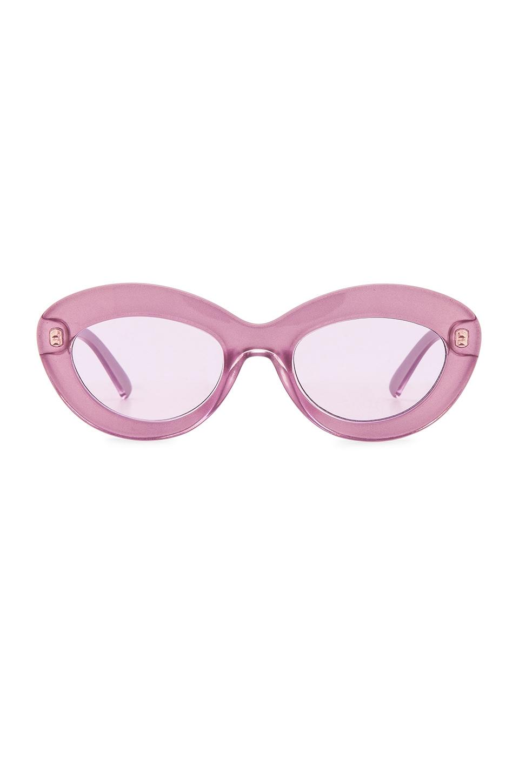 Le Specs x REVOLVE Fluxus in Lilac Shimmer