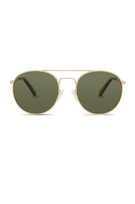 Le Specs Revolution in Gold & Khaki Mono
