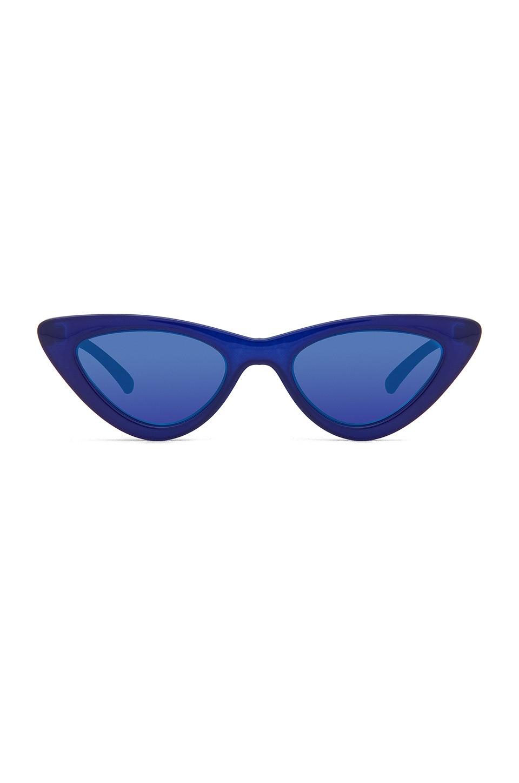 Le Specs x Adam Selman The Last Lolita Limited in Blue Hue
