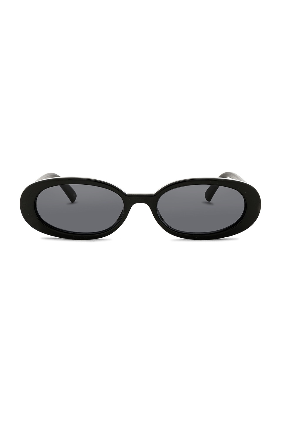 Le Specs Outta Love in Black & Smoke Mono