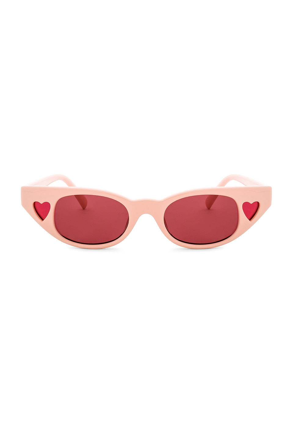 Le Specs x Adam Selman The Heartbreaker in Blush & Rose Mono
