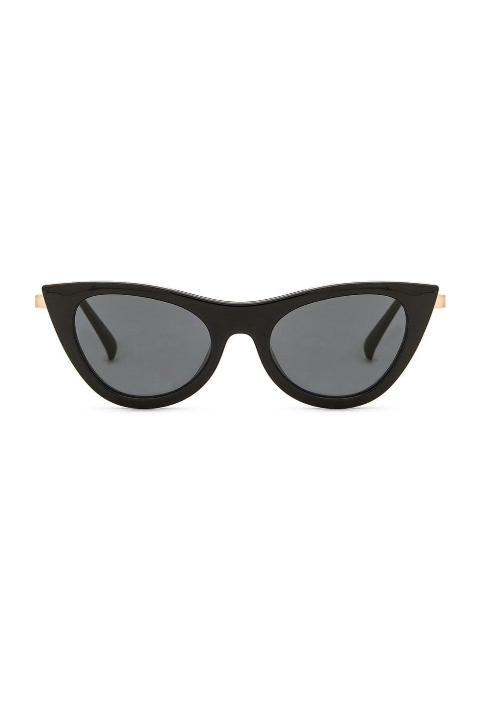 Le Specs Enchantress in Black & Smoke Mono