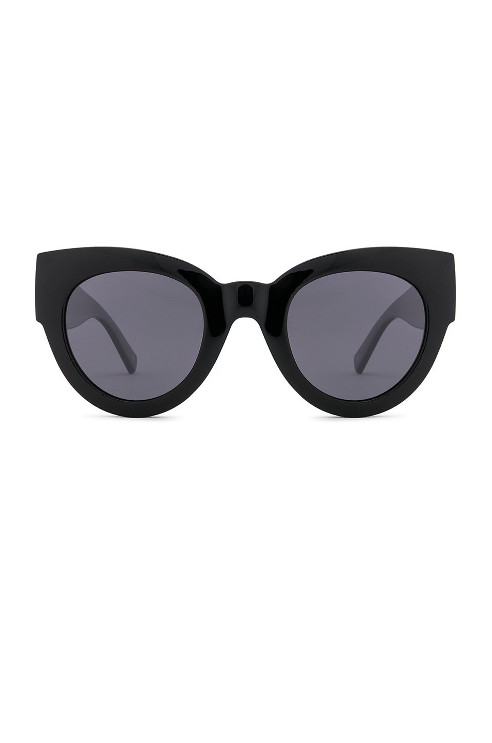 Le Specs Matriarch in Black & Smoke Mono