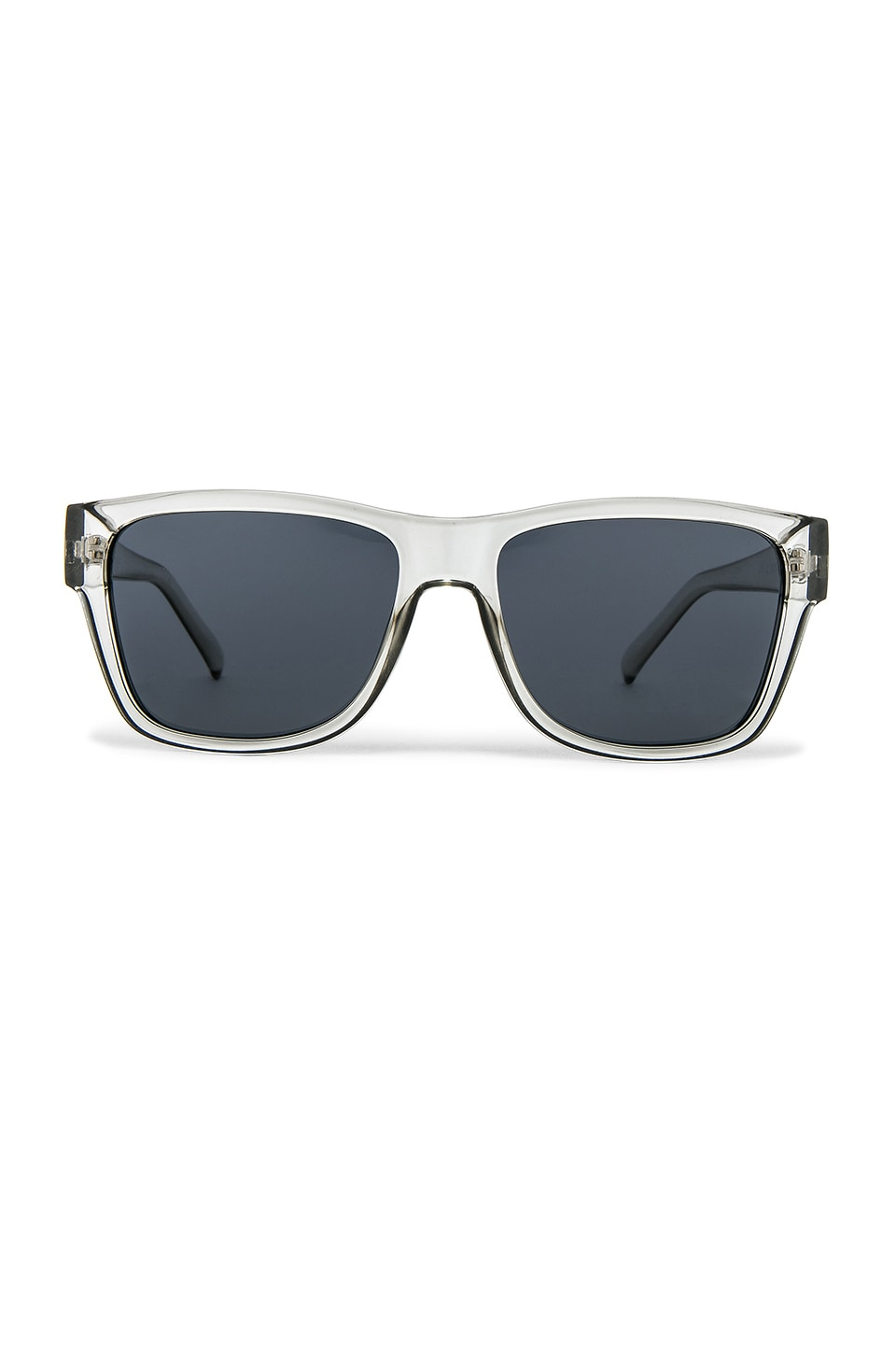 Le Specs The Force in Pewter & Smoke Mono