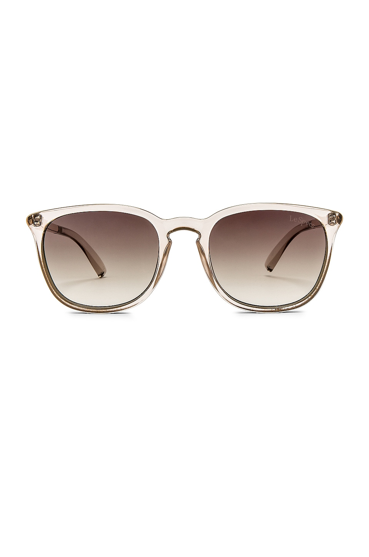 Le Specs Rebeller in Stone White & Khaki Gradient