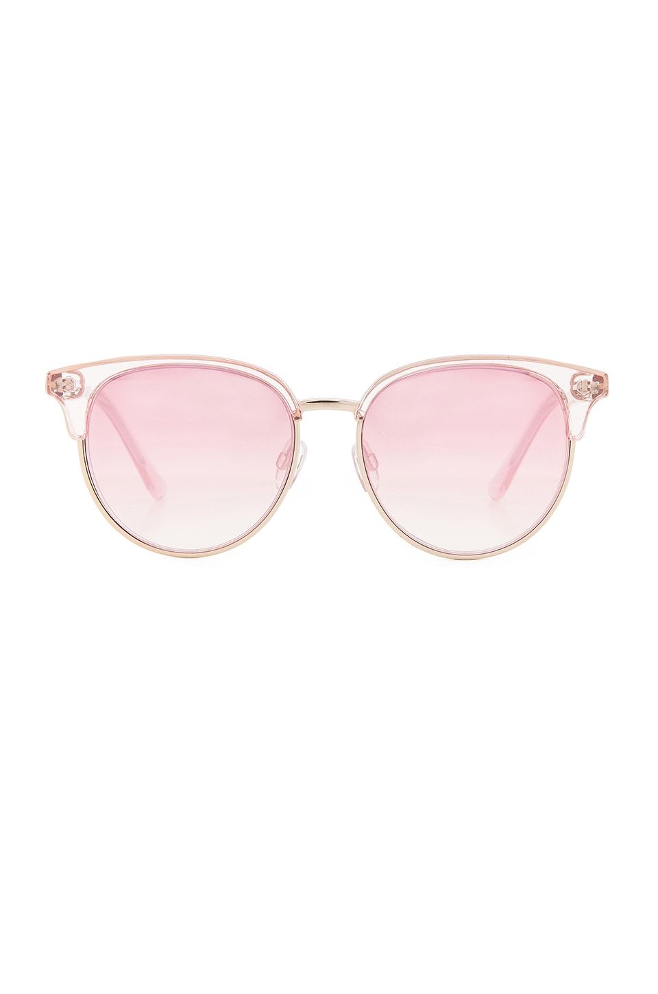 Le Specs Deja Vu in Pink Diamond