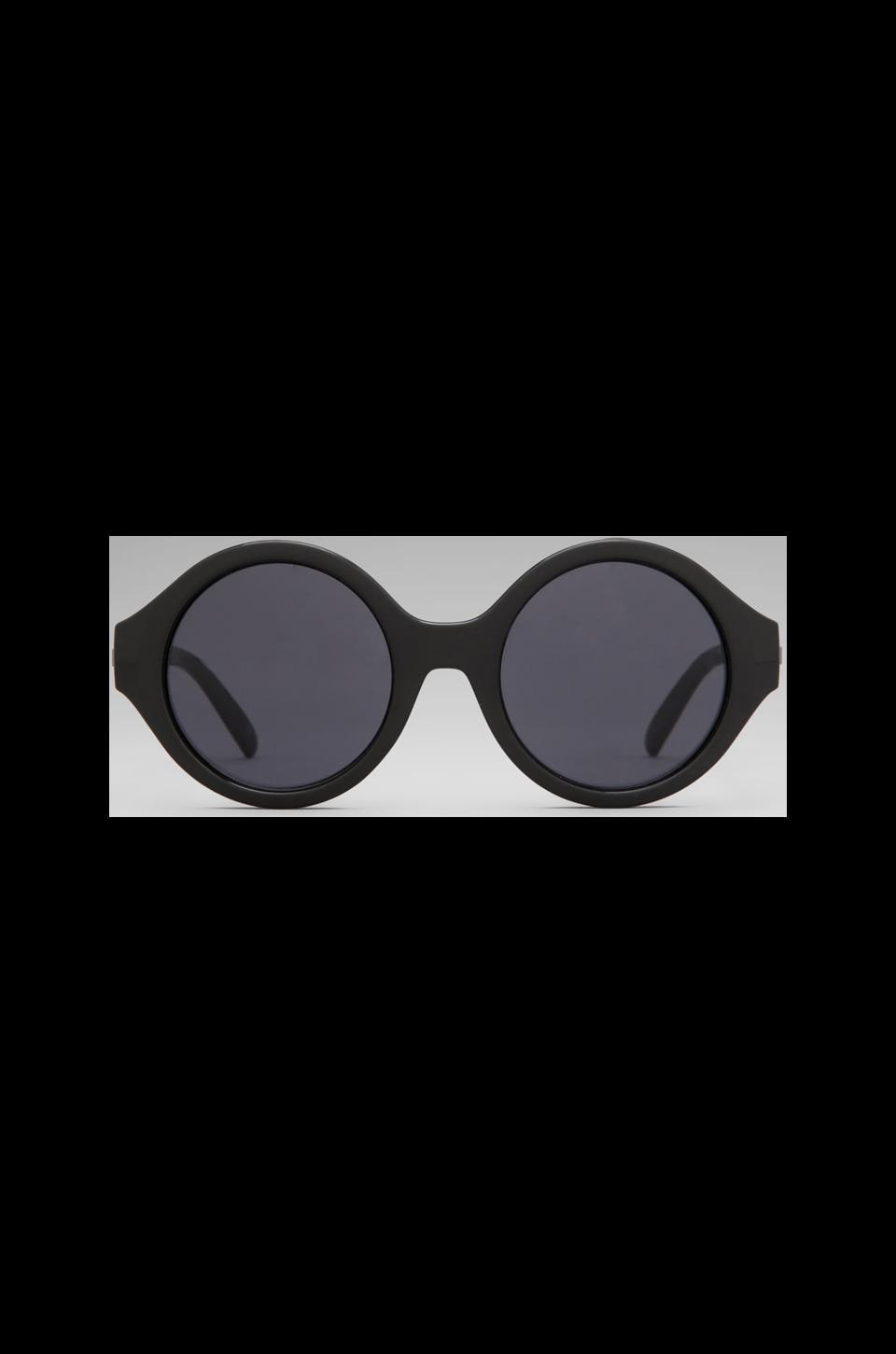 Le Specs The Dandy in Matte Black/ Smoke Mono