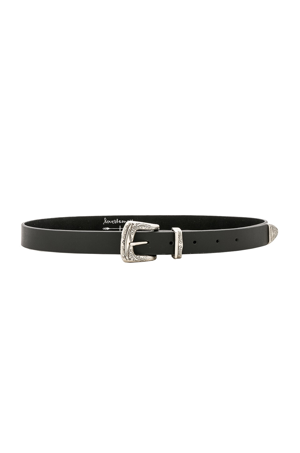 Luna Belt in Black. - size M/L (also in XS/S) Lovestrength