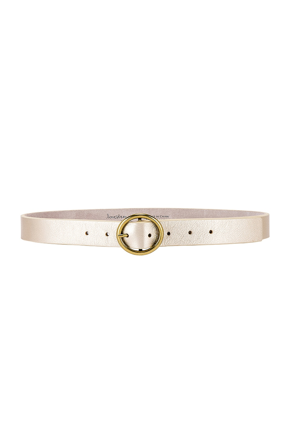 Lovestrength Wylie Belt in Champagne