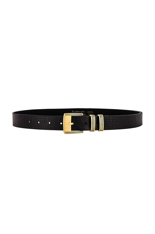 Lovestrength Brinley Hip Belt in Black & Brass