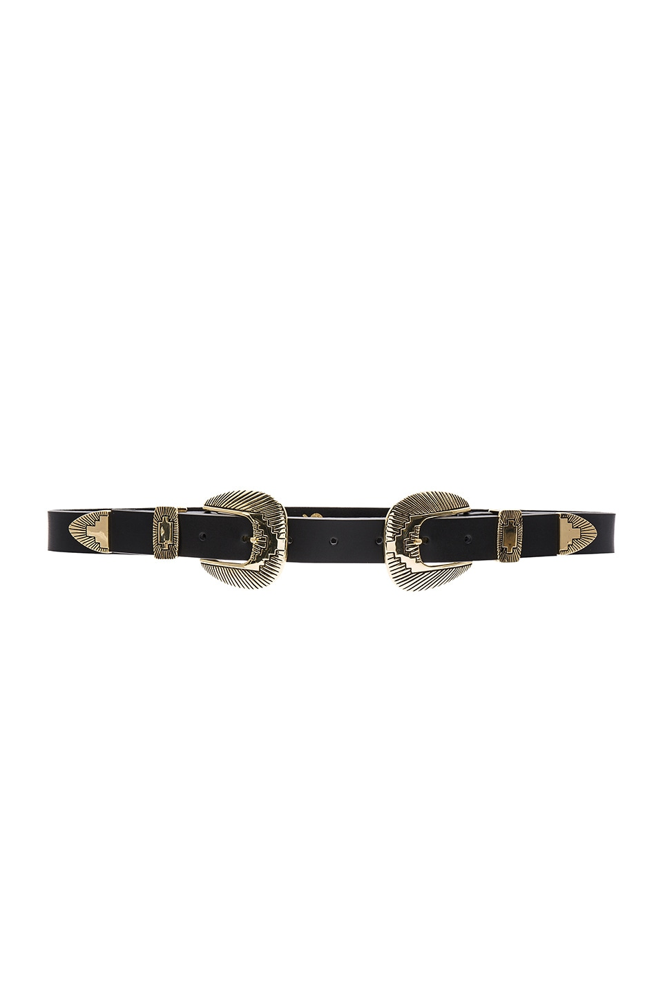 Lovestrength Winslow Hip Belt in Black & Gold