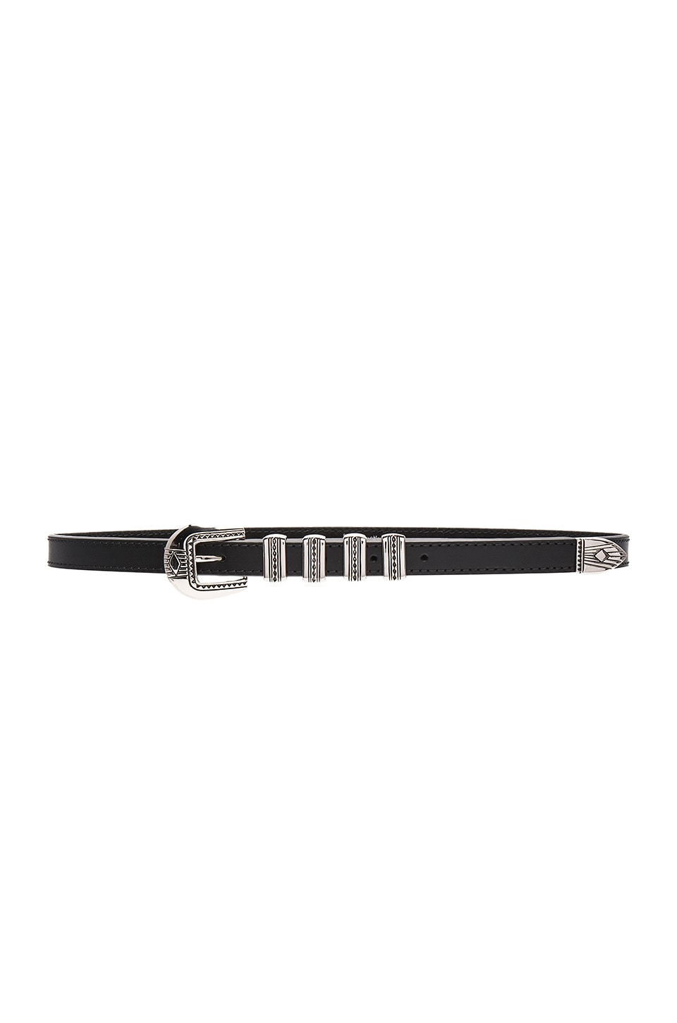 Lovestrength Hayden Hip Belt in Black & Silver