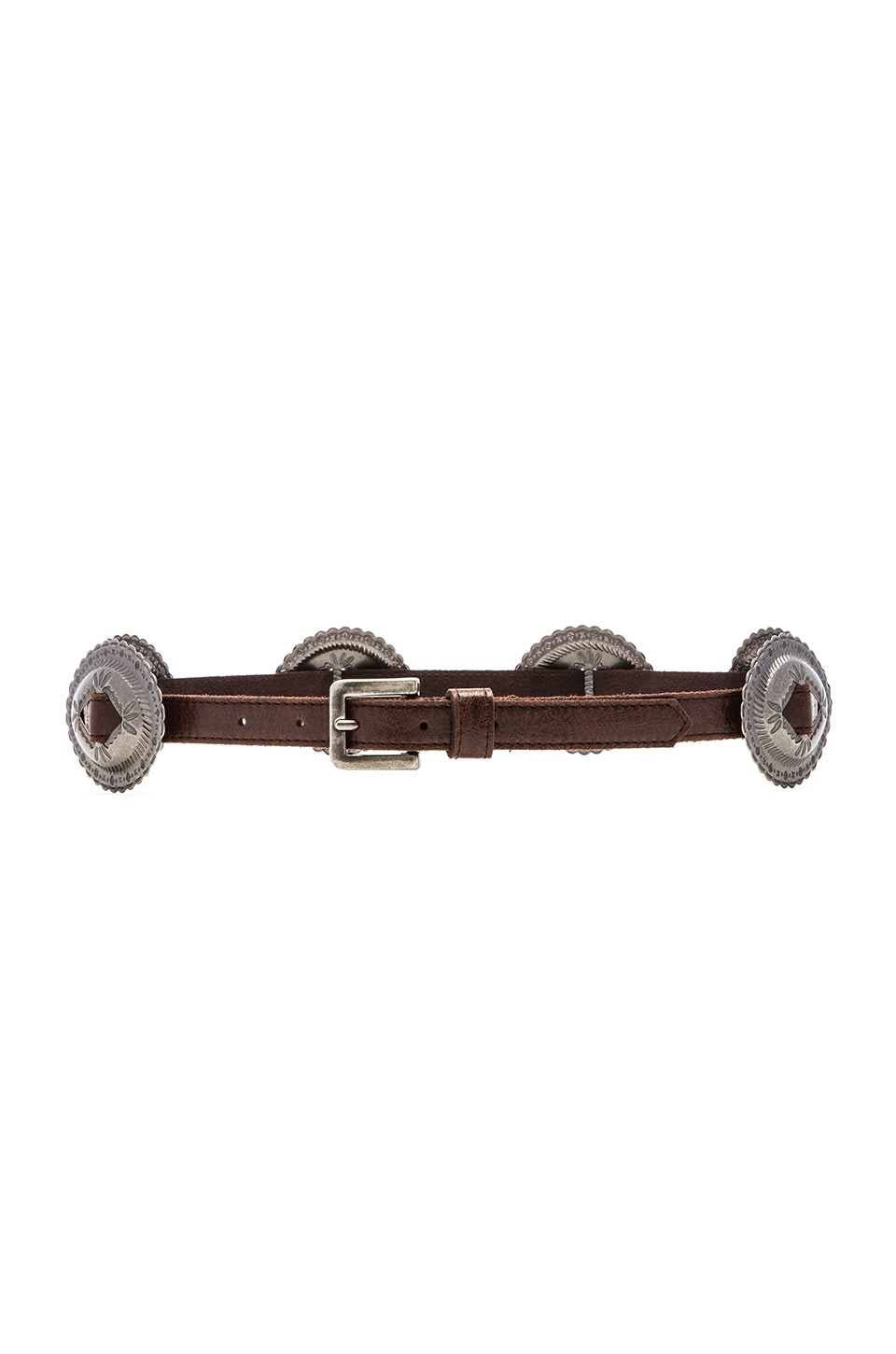 Lovestrength Phoenix Belt in Brown & Silver