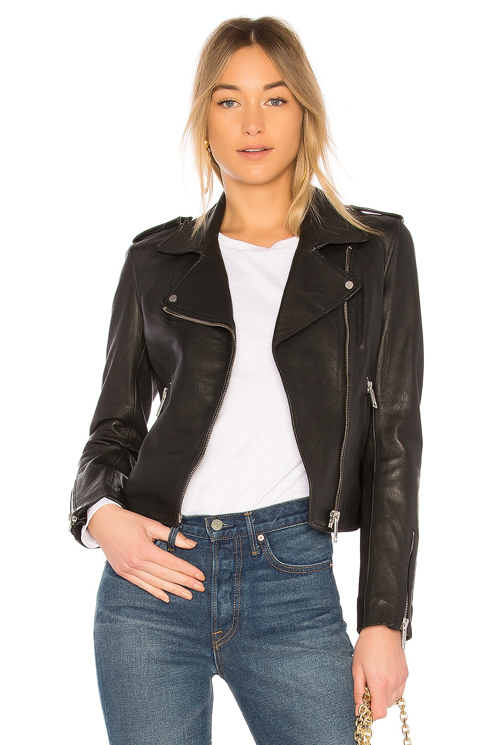 LTH JKT Kas Biker Jacket in Black