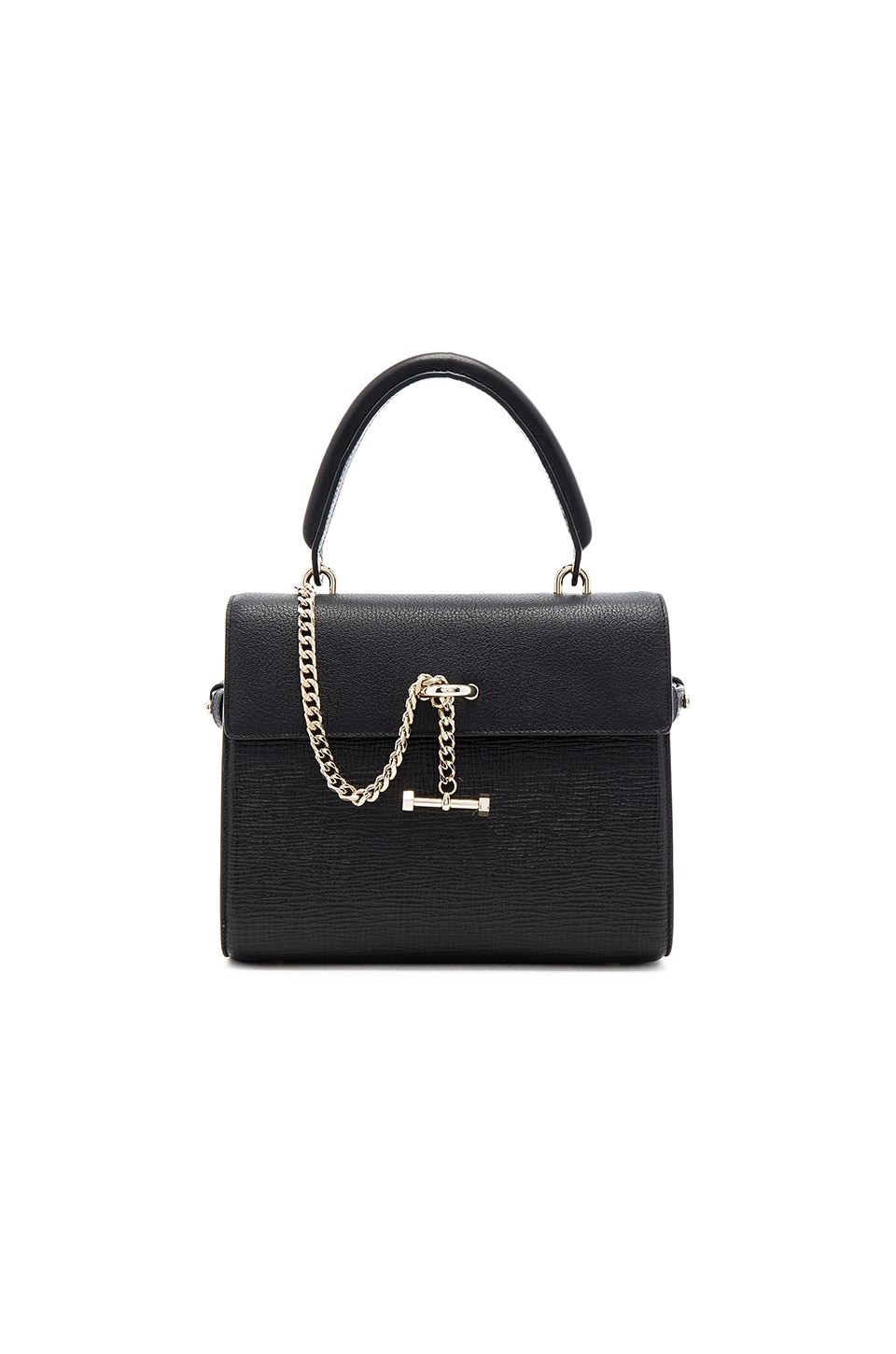 Luana Italy Paley Mini Satchel Bag in Ebony