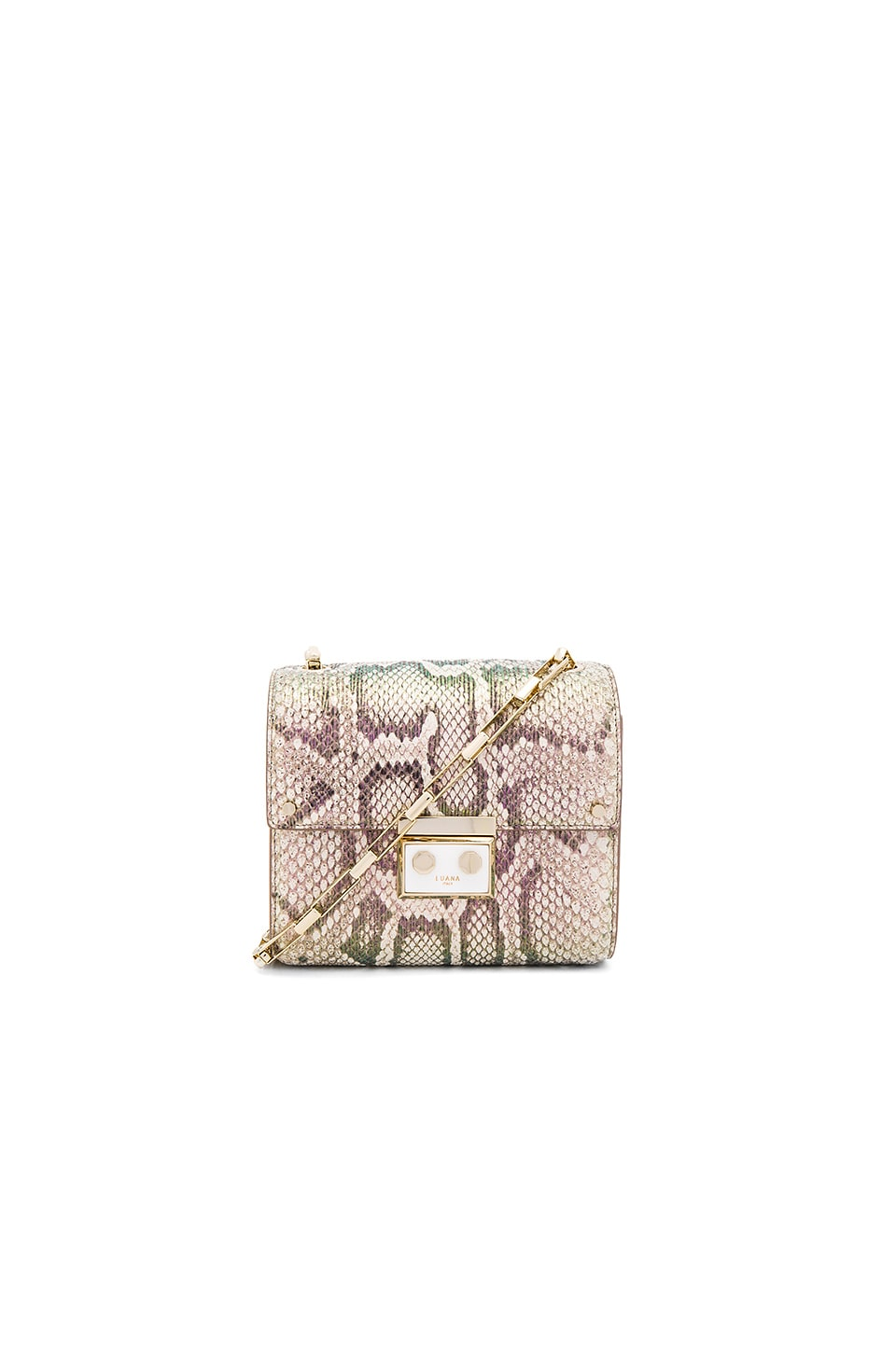 Luana Italy Anais Mini Shoulder Bag in Candy Snake