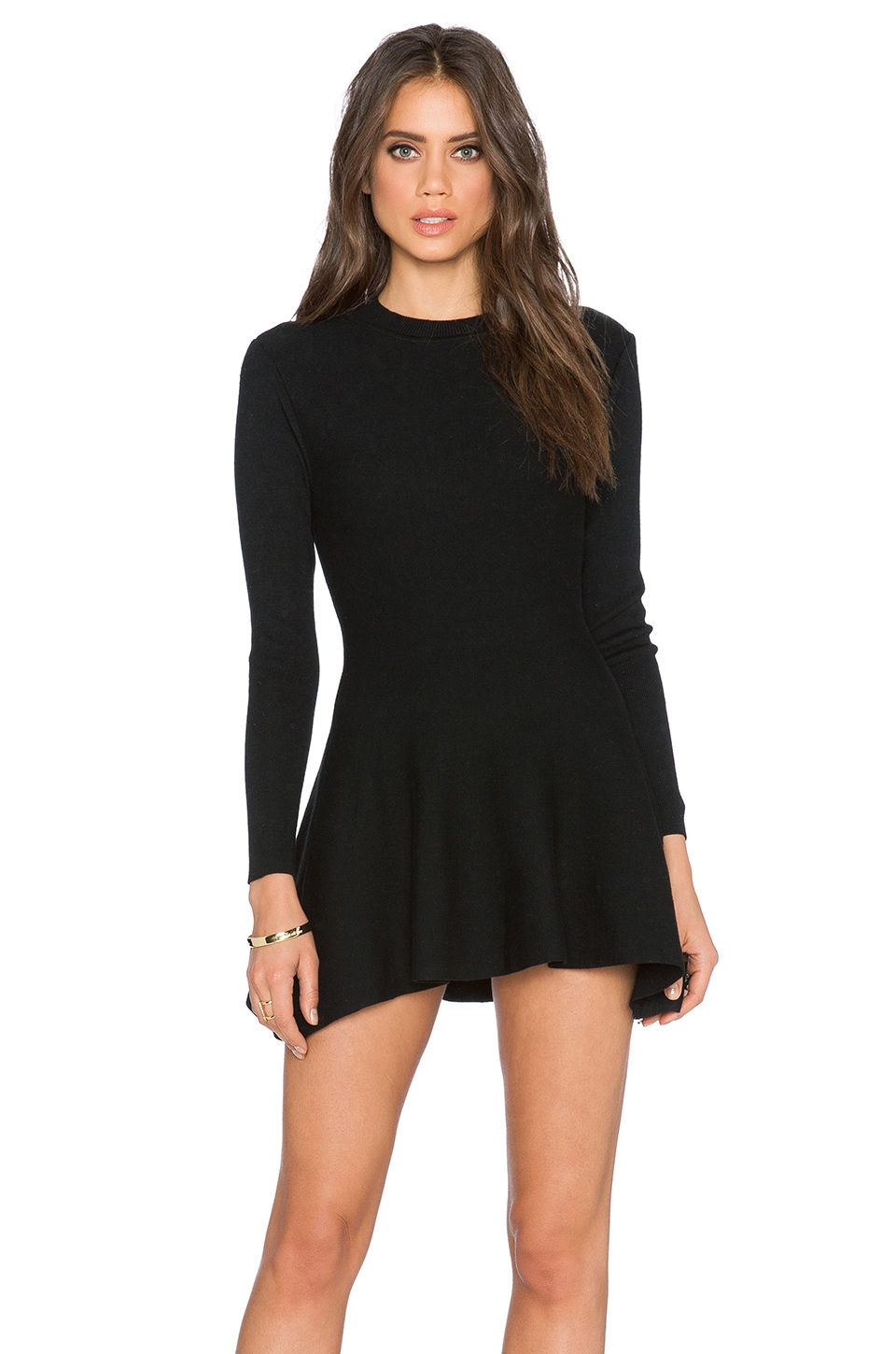 Long Sleeve Shift Dress by Lucca Couture
