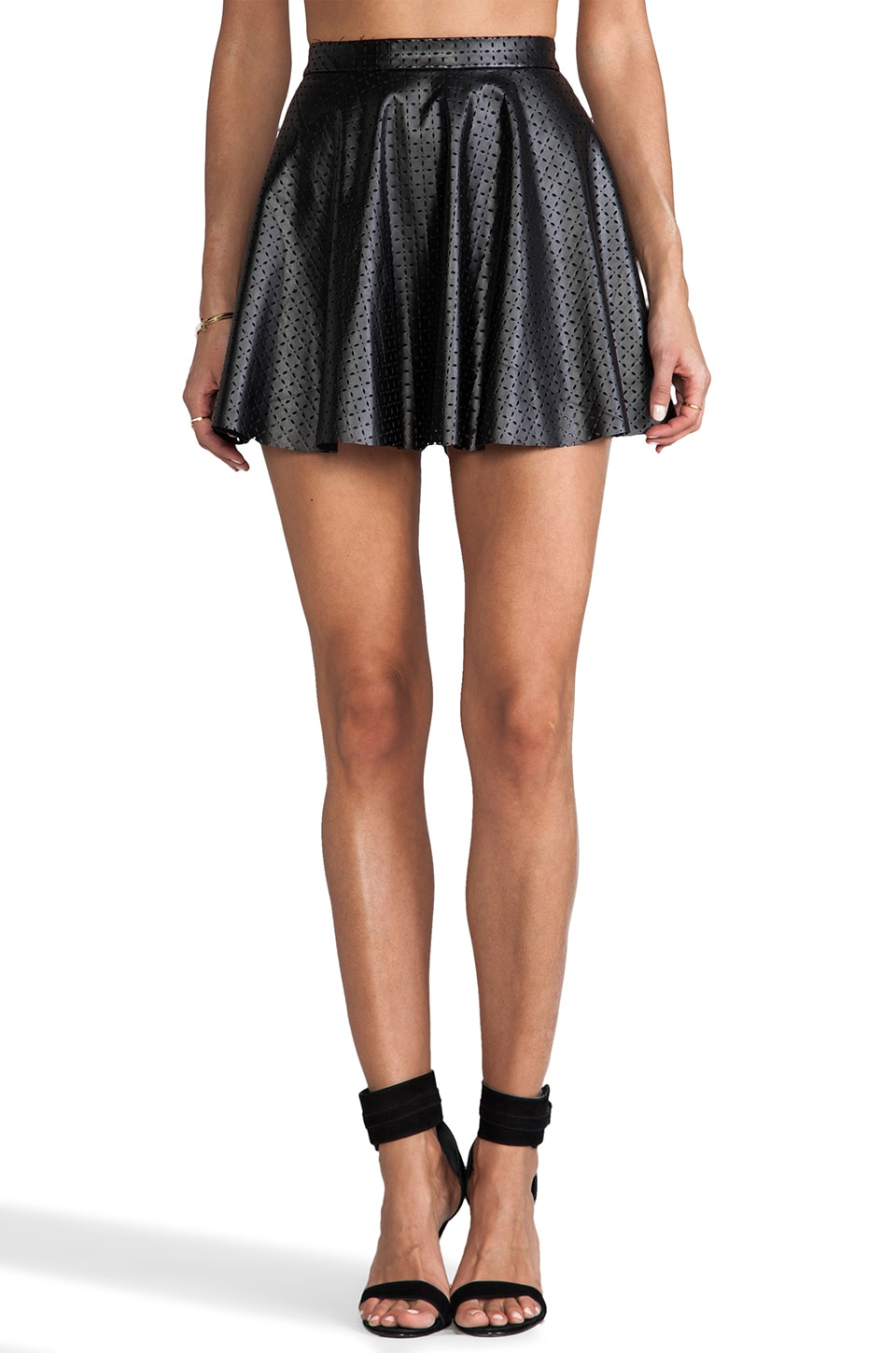 Lucca Couture Mini Skirt in Black