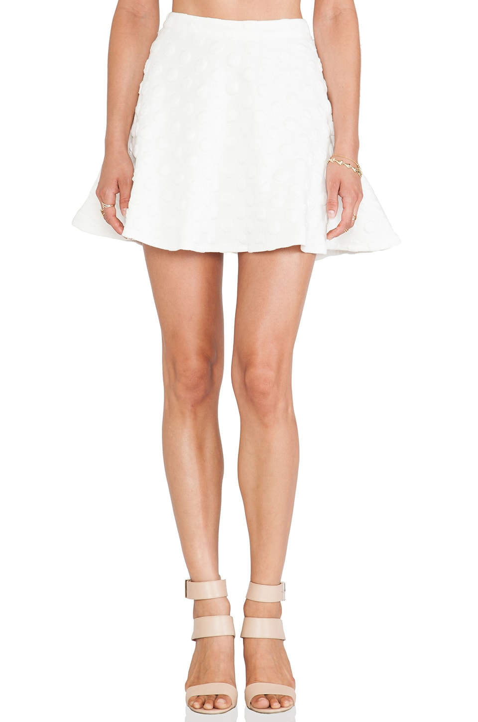 Lucca Couture Circle Skirt in Ivory