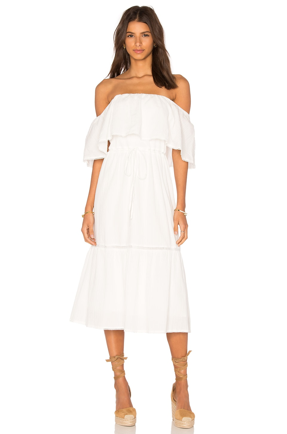 Lucy Paris Senorita Bonita Dress in White
