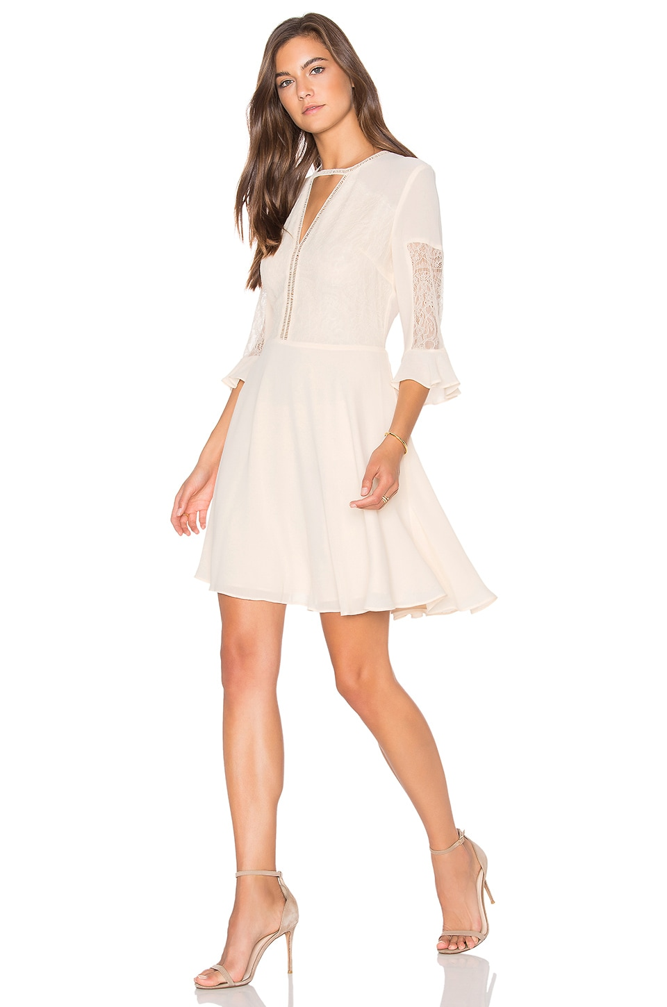 Lucy Paris Cassandra Dress in White
