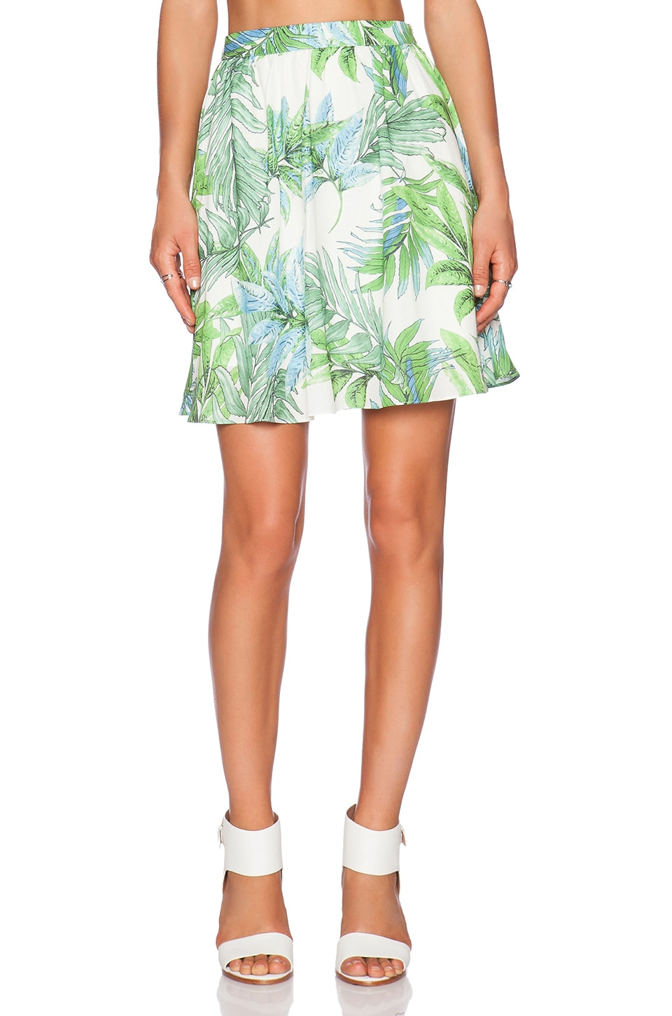 Lucy Paris x REVOLVE You Are My Sunshine Skirt in Palm Print