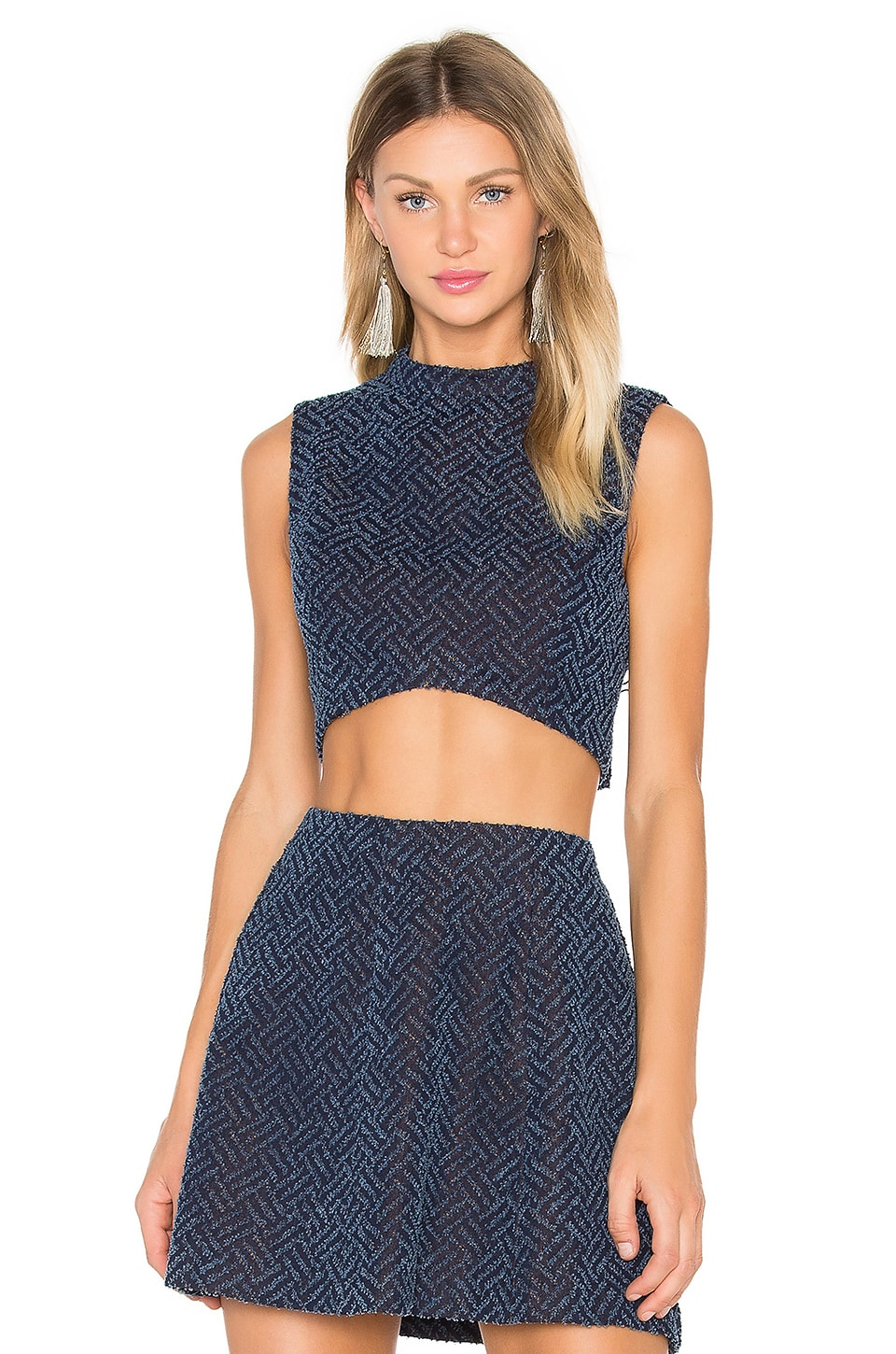 Cassy Crop Top by Lucy Paris