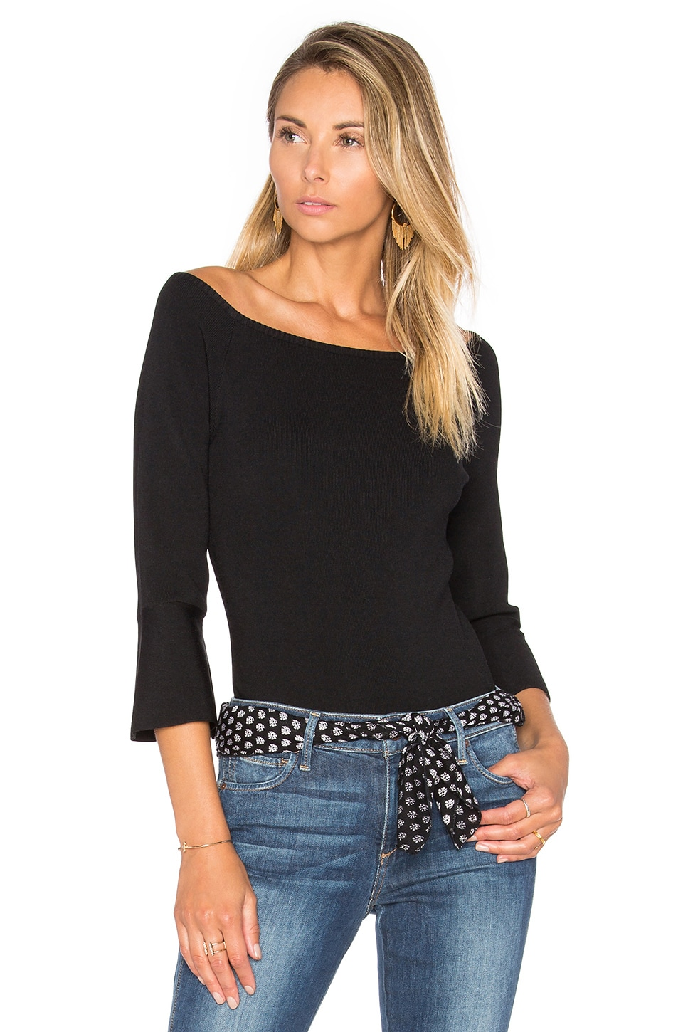 Day Trip Off the Shoulder Top by Lucy Paris