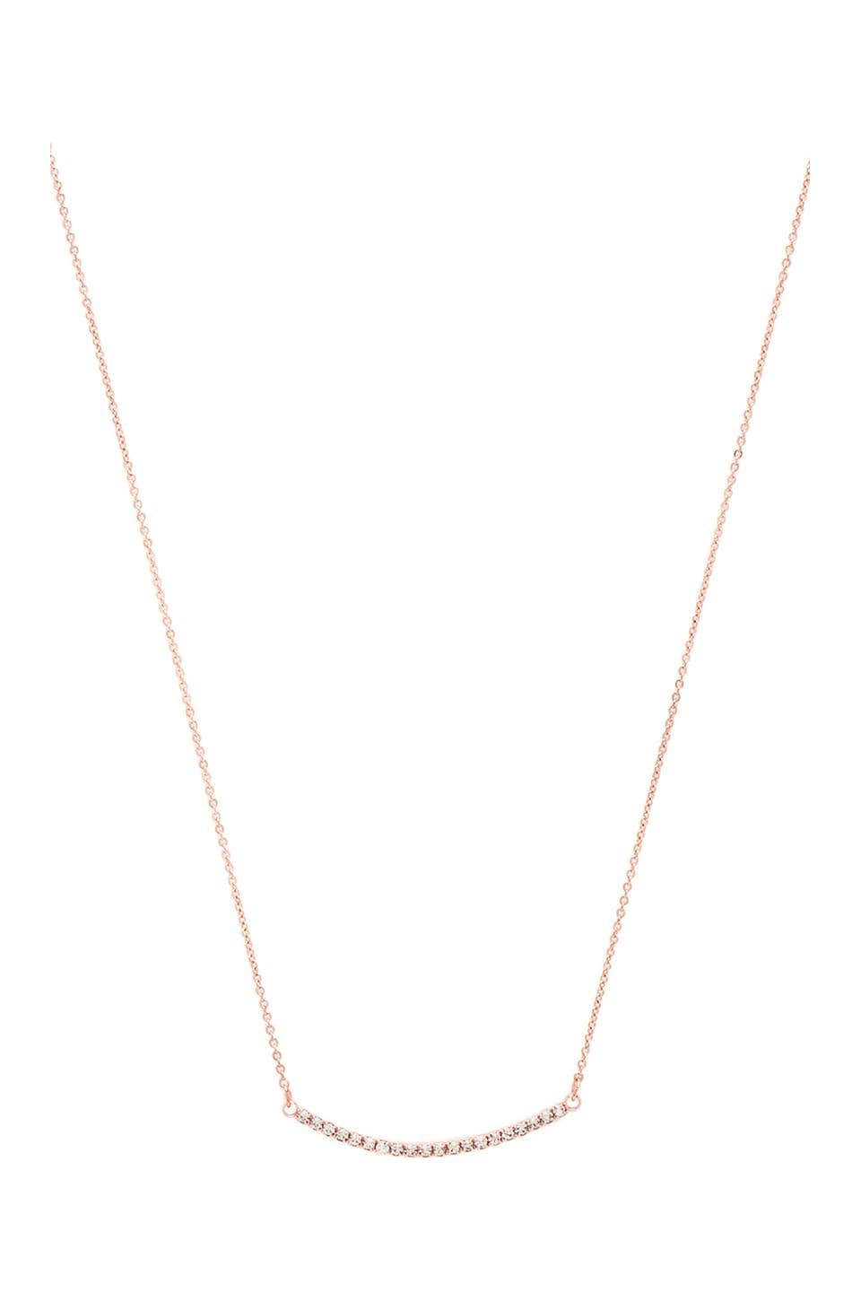 Lucky Star Valle Necklace in Rose Gold